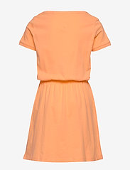 Tommy Hilfiger - JERSEY TEE DRESS S/S - robes - melon orange - 1
