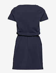 Tommy Hilfiger - JERSEY TEE DRESS S/S - robes - twilight navy - 1