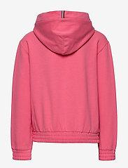 Tommy Hilfiger - ESSENTIAL HOODED SWEATSHIRT - hættetrøjer - glamour pink - 1
