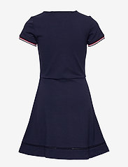 Tommy Hilfiger - ESSENTIAL SKATER DRESS - robes - twilight navy - 1