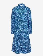 Tommy Hilfiger - DITSY FLOWER PRINT DRESS S/S - robes - dynamic blue/ ditsy flower - 2