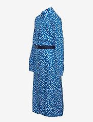 Tommy Hilfiger - DITSY FLOWER PRINT DRESS S/S - robes - dynamic blue/ ditsy flower - 3