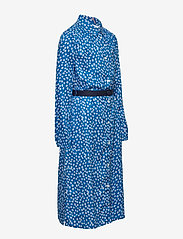 Tommy Hilfiger - DITSY FLOWER PRINT DRESS S/S - robes - dynamic blue/ ditsy flower - 4