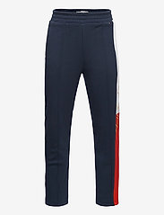 Tommy Hilfiger - ICONS SLIM LOGO SWEATPANTS - sweatpants - twilight navy - 0