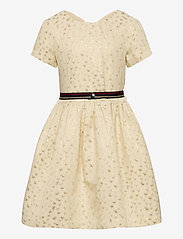 Tommy Hilfiger - STAR JACQUARD DRESS S/S - dresses - ivory petal/ star allover - 0