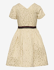 Tommy Hilfiger - STAR JACQUARD DRESS S/S - dresses - ivory petal/ star allover - 1