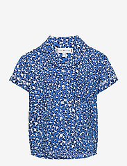 Tommy Hilfiger - ALLOVER LEOPARD PRINT TOP S/S - shirts - abstract leopard print - 0