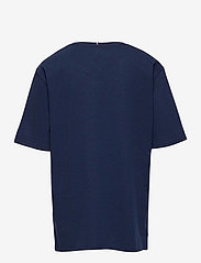 Tommy Hilfiger - TOMMY REFLECTIVE PRINT TEE S/S - short-sleeved - twilight navy - 1