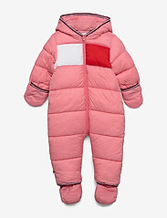 Tommy Hilfiger - BABY FLAG SKISUIT - thermo - rosey pink - 2