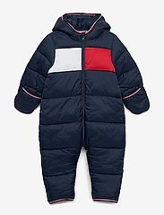 Tommy Hilfiger - BABY FLAG SKISUIT - thermo - twilight navy - 0
