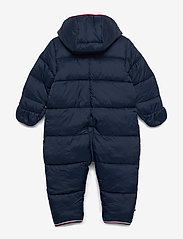 Tommy Hilfiger - BABY FLAG SKISUIT - thermo - twilight navy - 1