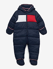 Tommy Hilfiger - BABY FLAG SKISUIT - thermo - twilight navy - 2