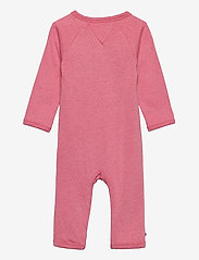 Tommy Hilfiger - BABY RAGLAN COVERALL L/S - langärmelig - rosey pink - 1