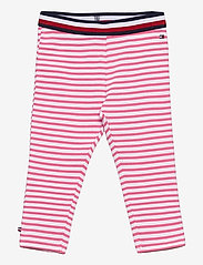 Tommy Hilfiger - BABY TOMMY LEGGINGS - sweatpants - exotic pink - 0