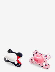 Tommy Hilfiger - BABY TOMMY 2 PACK DUMMY - pacifiers - pink breeze - 0