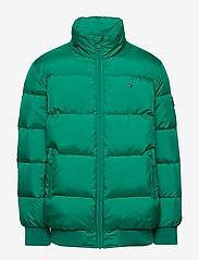 Tommy Hilfiger - U REFLECTIVE FLAG BOMBER - puffer & padded - midwest green - 1