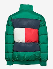 Tommy Hilfiger - U REFLECTIVE FLAG BOMBER - puffer & padded - midwest green - 2