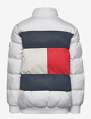 Tommy Hilfiger - U REFLECTIVE FLAG BOMBER - puffer & padded - white - 2