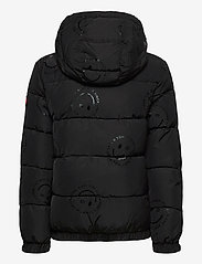 Tommy Hilfiger - U  GLOSSY SMILE AO JACKET - puffer & padded - black allover / smiley allover - 1