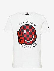 Tommy Hilfiger - U SMILE TEE 2 - short-sleeved - white - 0