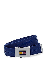 KIDS WEBBING BELT, 9 - BLUE