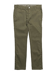 AME SKINNY CHINO NFST GD - FOUR LEAF CLOVER
