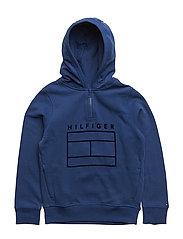 AME HILFIGER HD ZIP - BLUE DEPTHS