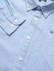 Tommy Hilfiger - BOYS STRETCH OXFORD SHIRT L/S - shirts - shirt blue - 2