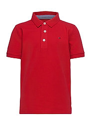 BOYS TOMMY POLO S/S - APPLE RED
