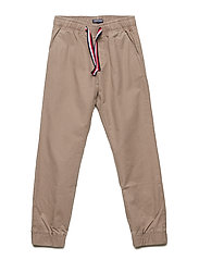 CHINO JOGGER DALST P - WALNUT