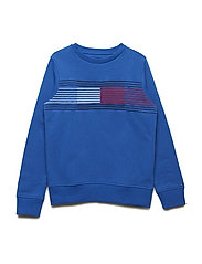 ESSENTIAL FLAG SWEAT - OLYMPIAN BLUE