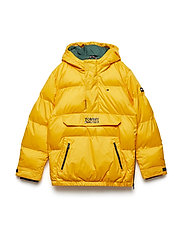 KIDS PADDED POP OVER JACKET - SPECTRA YELLOW