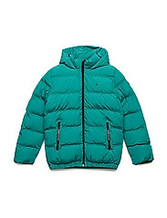 ESSENTIAL PADDED JACKET - SHADY GLADE