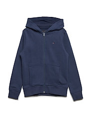 ESSENTIAL TOMMY ZIP, - BLACK IRIS