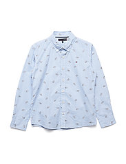 PRINTED SHOE SHIRT L - BRIGHT WHITE/MULTI