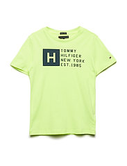 ESSENTIAL HILFIGER T - SAFETY YELLOW