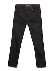 SIMON SKINNY COBST, - COVE BLACK STRETCH