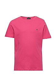 ESSENTIAL ORIGINAL CTTN TEE S/S - FUCHSIA PURPLE
