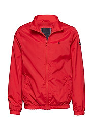 ESSENTIAL TOMMY JACKET - FLAME SCARLET