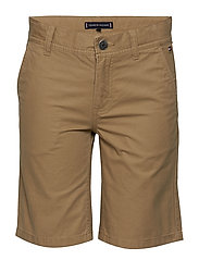 ESSENTIAL TWILL NEW CHINO SHORT - TIGER'S EYE