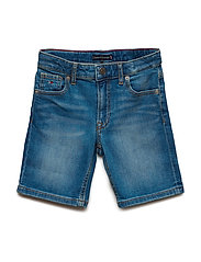 RANDY RELAXED SHORT, - NEW YORK MID STRETCH
