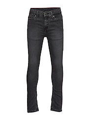 SIMON SKINNY SLBGST - SLIGA BLACK GREY STRETCH