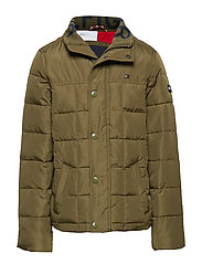 CLASSIC QUILTED JACK - OLIVE NIGHT