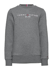 ESSENTIAL CN SWEATSHIRT SET 1 - CHARCOAL HEATHER
