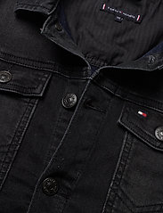 Tommy Hilfiger - TRUCKER BOYS DUSBST - denimjakker - dusk black stretch - 2