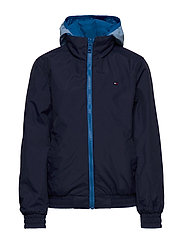 Tommy Hilfiger - REVERSIBLE COLOR BLO - puffer & padded - imperial blue - 7