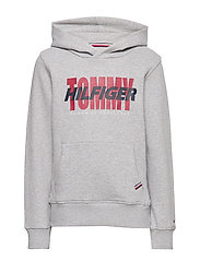ARTWORK HOODIE - GREY HEATHER