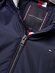 Tommy Hilfiger - HOODED FLIGHT PARKA - parkas - black iris - 5