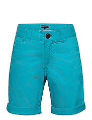 ESSENTIAL CHINO SHORT - EXOTIC TEAL