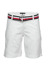ESSENTIAL BELTED CHI - WHITE 658-170
